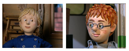 Fireman Sam with Jane Lynch and Harry Potter