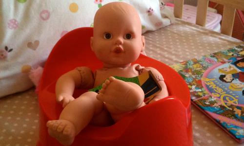 Potty Training Update- baby