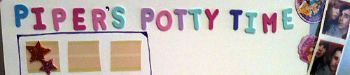 Potty Training Update- It's A Hat